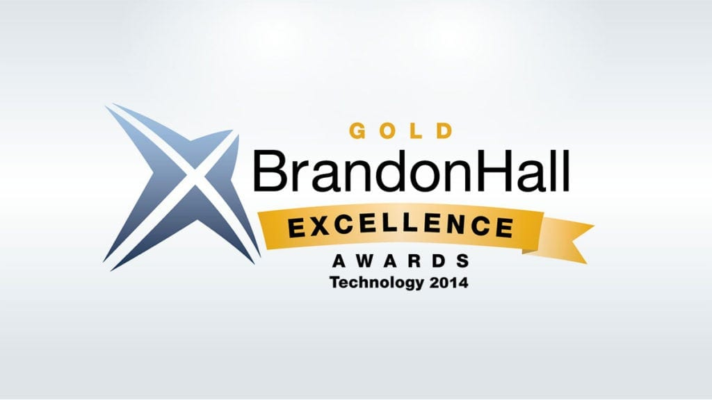 Global eTraining Wins Prestigious Brandon Hall Group Excellence Gold Award for The Generator