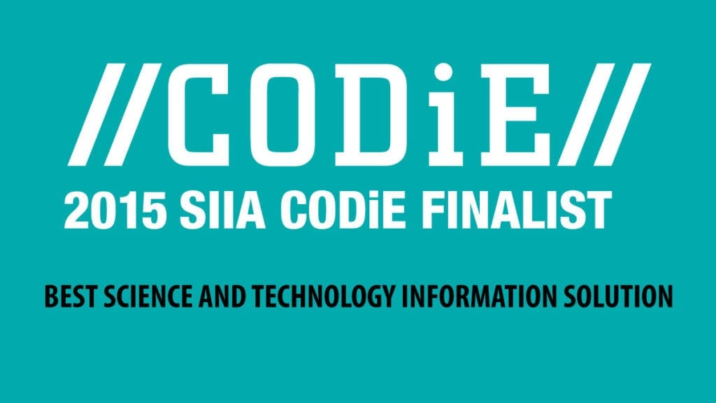 Global eTraining Named SIIA Content CODiE Award Finalist for Best Science and Technology Information Solution