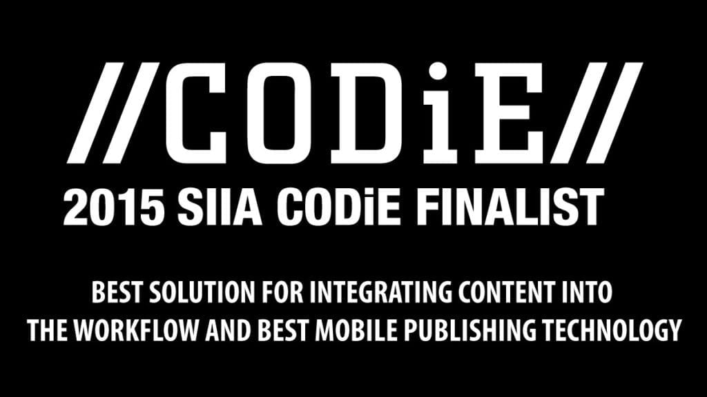 Global eTraining Named SIIA Content CODiE Award Finalist for Best Solution for Integrating Content into the Workflow and Best Mobile Publishing Technology