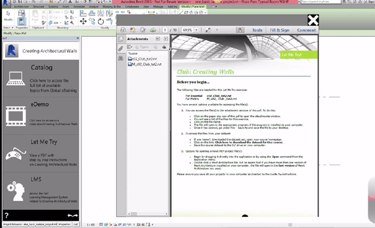 Global eTraining (GeT), a global leader in online training, introduced Software Plug-in and Autotranslate feature at Autodesk University 2014 today