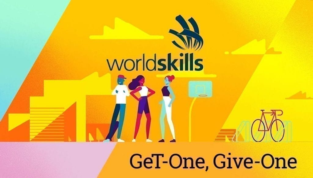 Global eTraining teams up with WorldSkills for 'GeT One - Give One'