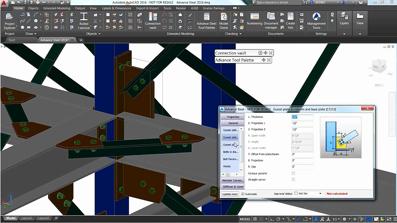Autodesk Advanced Steel Essentials