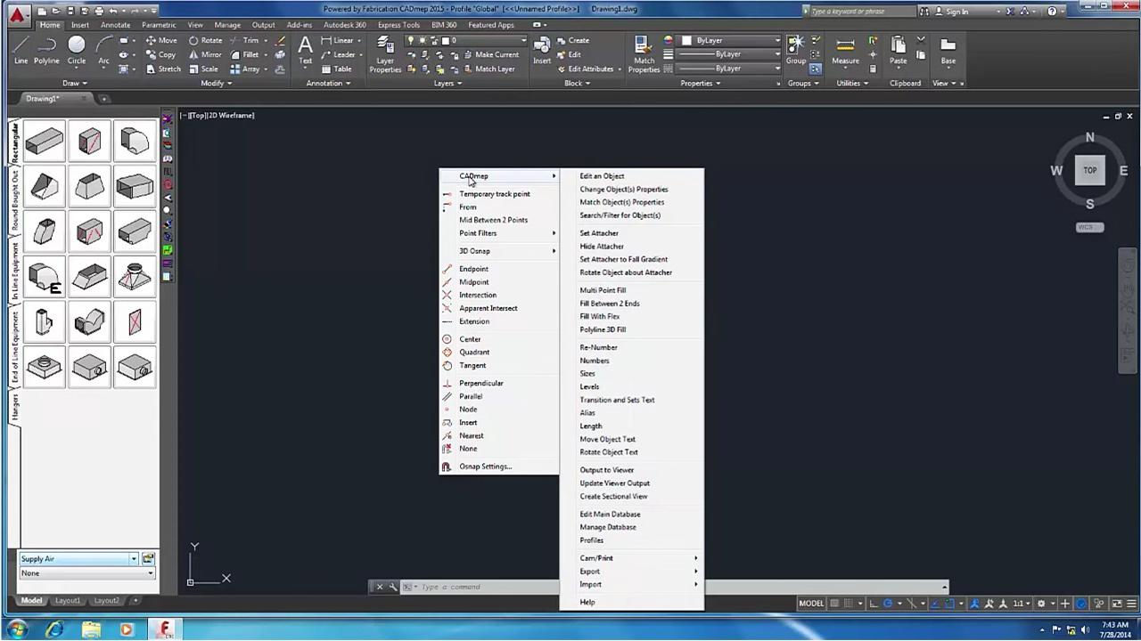 Autodesk Fabrication CADmep